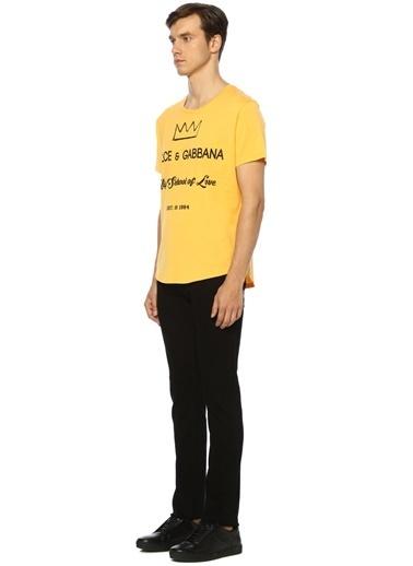 Dolce&Gabbana Tişört Sarı